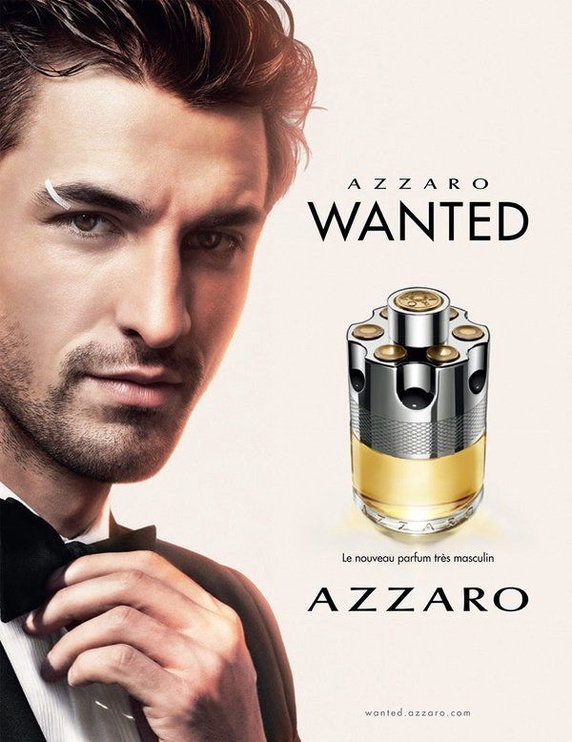 Дезодорант для мужчин Azzaro Wanted, 75 мл