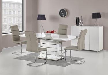 Pusdienu galds Halmar Onyx White, 1600 - 2000x900x760 mm