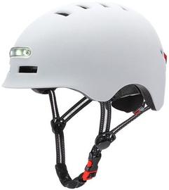 Beaster Scooter Helmet White 54-57cm BS51BL