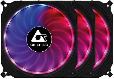 Chieftec RGB Case Fan Triple Pack CF-3012-RGB