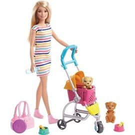 Кукла Mattel Barbie Stroll'n Play Pups GHV92