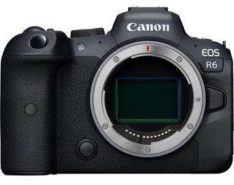 Sistēmas fotoaparāts Canon EOS R6 Body Black