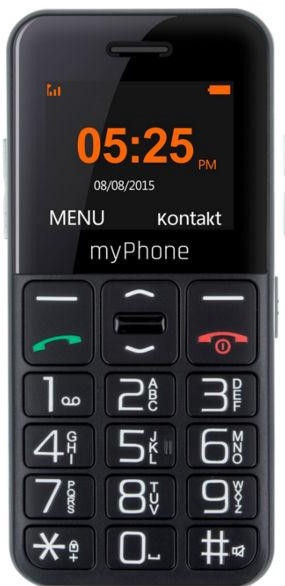 MyPhone HALO Easy Black