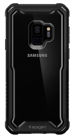 Spigen Hybrid 360 Cover + Tempered Glass For Samsung Galaxy S9 Black