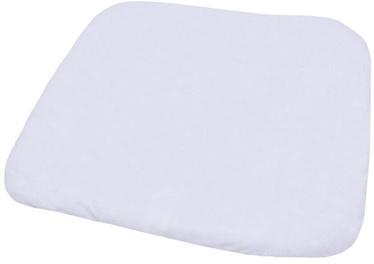 Чехол на пеленальный матрас Lulando Terry M, 75x65 см, белый/серый