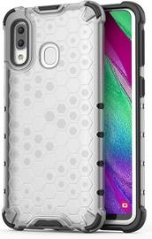 Hurtel Honeycomb Armor Back Case For Samsung Galaxy A40 Transparent