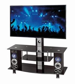 TV galds Halmar RTV22 Stereo Black, 800x400x500 mm