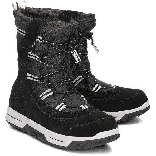 Kurpes Timberland Snow Stomper Pull On WP A1UIK Black 38