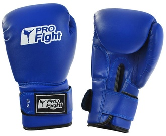 ProFight Skin Dragon Boxing Gloves Blue 10oz