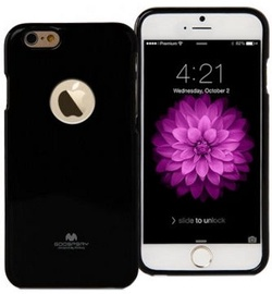 Mercury Jelly Hool Back Cover For Apple iPhone 6 Plus/6s Plus Black