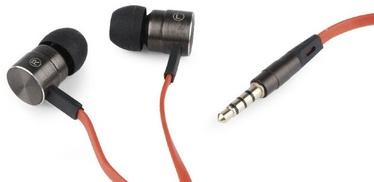 Наушники Gembird London Universal In-Ear Black/Red