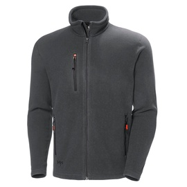 Helly Hansen WorkWear Oxford Fleece Jacket Dark Grey M