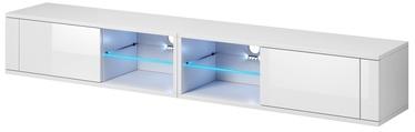 ТВ стол Vivaldi Meble Best Double, белый, 2000x358x305 мм