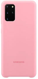 Samsung Silicone Back Case For Samsung Galaxy S20 Plus Pink