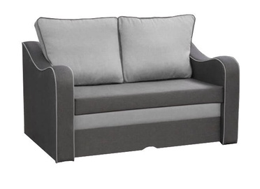 Диван-кровать Idzczak Meble Samba Grey/Light Grey, 140 x 90 x 73 см