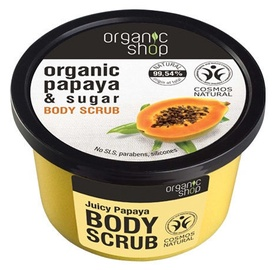 Organic Shop Body Scrub 250ml Juicy Papaya