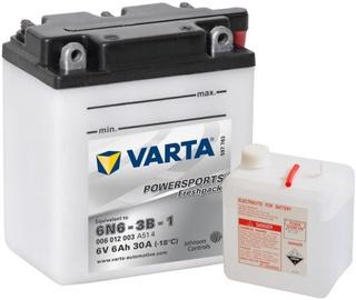 Akumulators Varta Powersports Freshpack SLI 6N6-3B-1, 6 V, 6 Ah, 30 A
