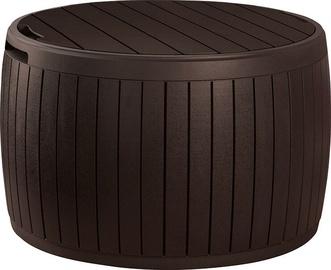 Keter Circa Wood Storage Box Brown 140l