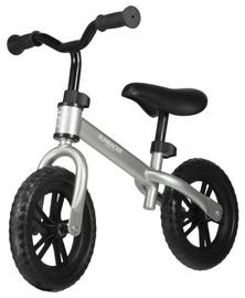 "Līdzsvara velosipēds Stiga Runracer C10, sudraba, 10"""