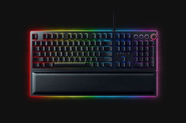 Razer Huntsman Elite Opto-Mechanical Gaming Keyboard US Black