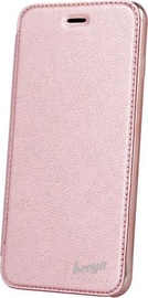 Beeyo Glamour Book Case For Samsung Galaxy A3 A320 Pink