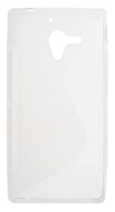 Telone Back Case S-Case for HTC 601e One mini M4 Transparent