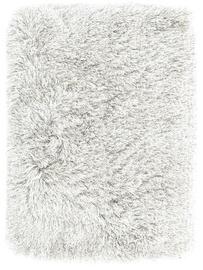 Ковер AmeliaHome Floro, белый, 80 см x 50 см