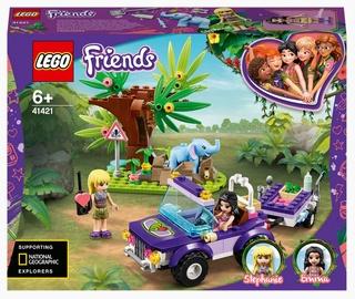 Konstruktors LEGO Friends Zilonēna glābšana džungļos 41421, 203 gab.