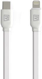 Remax Universal Soft Silicone Type-C To Lightning Data Charger Cable 1m White