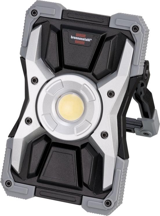 Prožektors Brennenstuhl, 15W, 1500lm, 6500°K, IP65, melna/pelēka