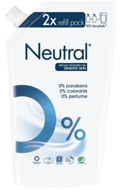 Neutral Liquid Soap 500ml Refill