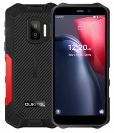 Mobilais telefons OukiTel, melna/sarkana, 4GB/32GB