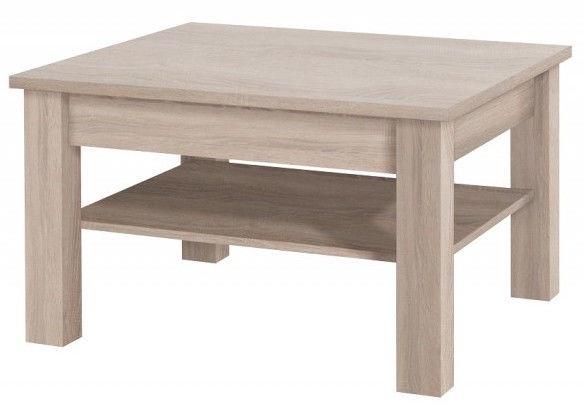 Kafijas galdiņš Jurek Meble Cezar Reg Cezar Reg 18 Sonoma Oak, 800x800x480 mm