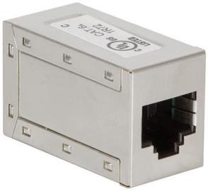 LogiLink Keystone Inline Coupler CAT6a STP RJ45 x2 Metal