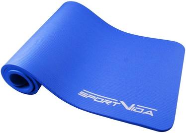 SportVida NBR Thicker Exercise Fitness & Yoga Mat Blue