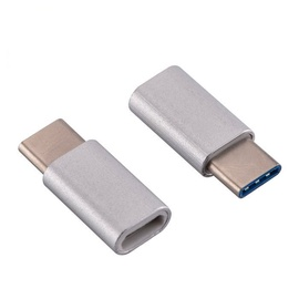 Mocco Micro USB To USB Type-C Adapter Silver