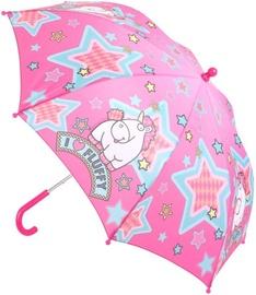 Disney Fluffy the Unicorn Umbrella Pink