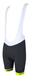 Force B38 Bib Shorts Black/White/Yellow L