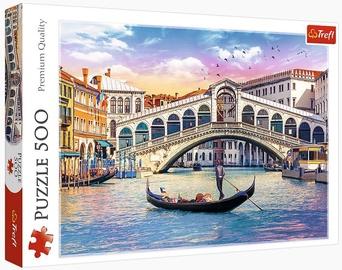 Puzles Trefl Puzzle Rialto Bridge Venice 500pcs 37398