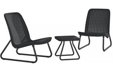 Комплект уличной мебели Keter Rio Patio, серый, 2 места