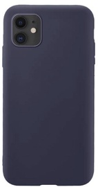Hurtel Soft Flexible Rubber Back Case For Apple iPhone 11 Dark Blue