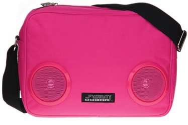 Fydelity G-Force Bag with Speakers Pink