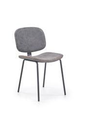 Ēdamistabas krēsls Halmar K278 Grey/Black