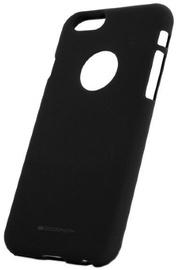 Mercury Soft Surface Matte Back Case For Samsung Galaxy A6 2018 Black
