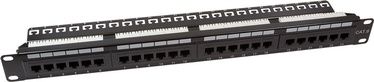 LogiLink CAT6 Patch Panel 19'' 24-Port Unshielded NP0004A