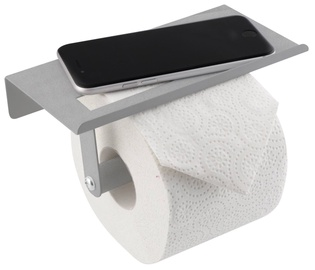 Klozetpoda papīra turētājs Axentia Toilet Paper Holder With Shelf