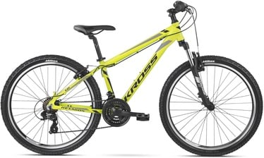 "Kross Hexagon XS 26"" Yellow Black Grey Glossy 20"