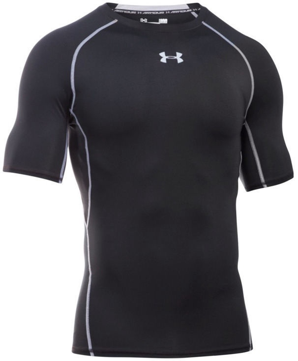 Under Armour Compression Shirt HG Armour SS 1257468-001 Black L