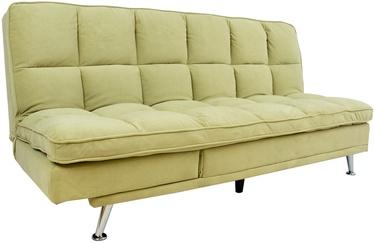 Dīvāngulta Home4you Monza 77666, zaļa, 189 x 95 x 98 cm