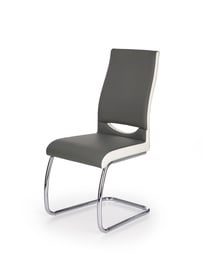 Ēdamistabas krēsls Halmar K - 259 Grey/White